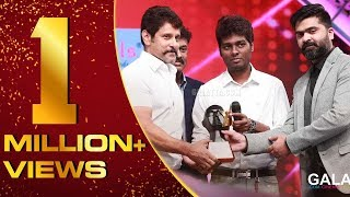 Chiyaan Vikram winning GOLDEN MAN OF TAMIL CINEMA | Galatta Nakshatra Awards