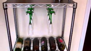 Wine Bottle Storage Unit - The Shelving Store