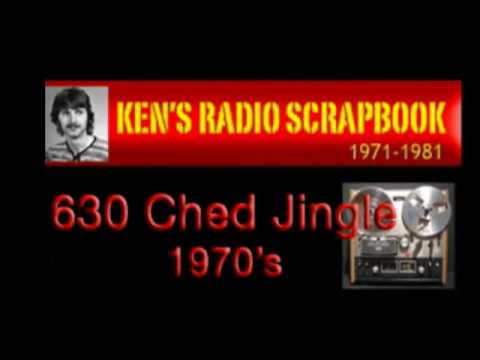 630 CHED Jingle 1970's - Edmonton Alberta - ARCHIVED RADIO