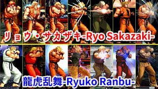 【SNK+CAPCOM】リョウ・サカザキ-Ryo Sakazaki- 龍虎乱舞-Ryuko Ranbu-【Evolution】