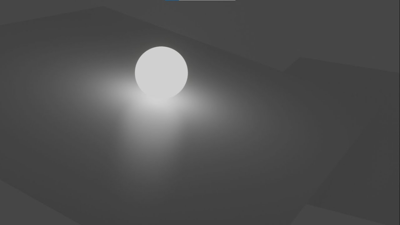 Quick Work 02: Create Realtime EEVEE Emission Shadered Sphere for Animations.