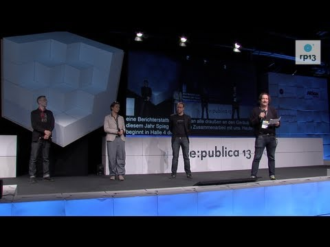 re:publica 2013: Eröffnung on YouTube