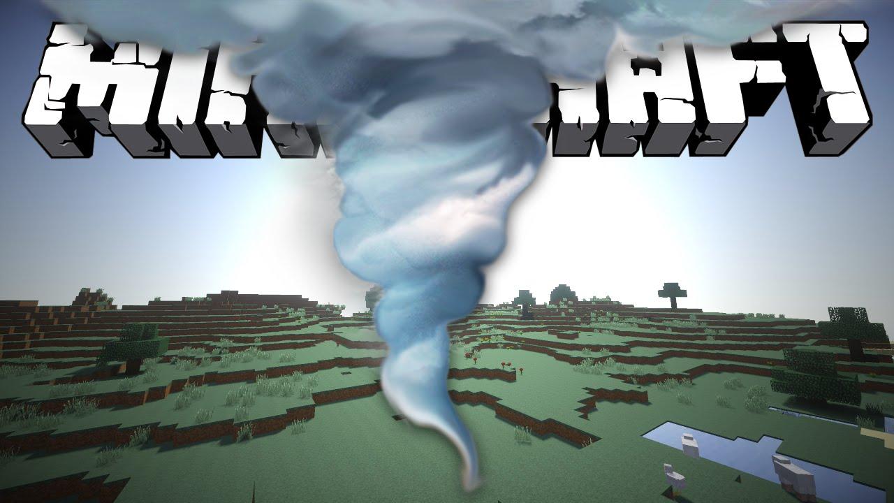 Скачать эпичное торнадо minecraft обзор мода