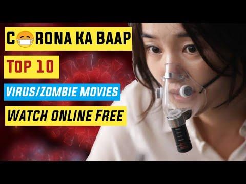 Top 10 Hollywood Virus Outbreak/Zombie Movies On Youtube In Hindi|Like Coronavirus|