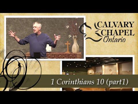 1 Corinthians 10 (Part 1) Where is Your Confidence?