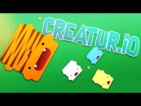 GIANT TIGER CREATUR eats ALL of the OTHER CREATURS! - Amazing new IO Game - Creatur.io