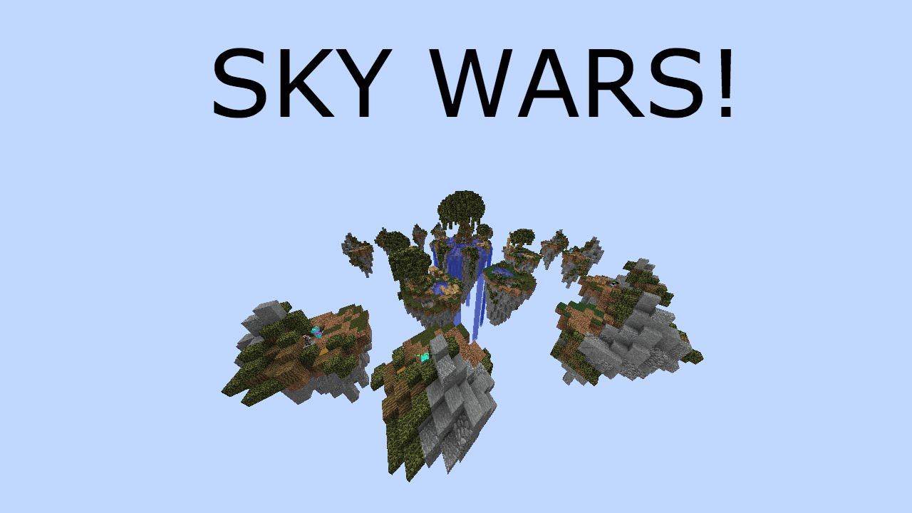Minecraft: SKY WARS! #1 Losing everytime?! (Hypixel Server ...