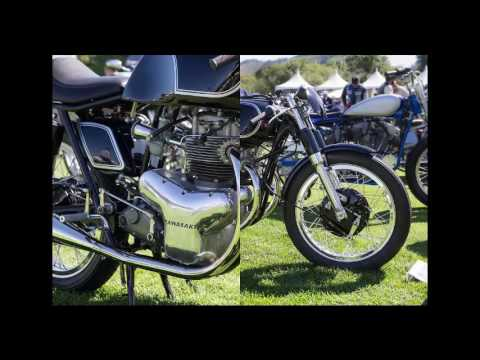 Raccia Motorcycles Kawasaki W1 Twin Custom Motorcycle Youtube