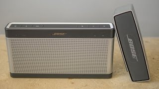 Bose Soundlink III vs Soundlink Mini audiotest