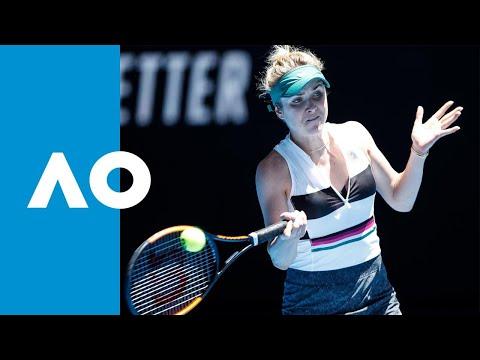 Shuai Zhang V Elina Svitolina Match Highlights (3R)   Australian Open 2019