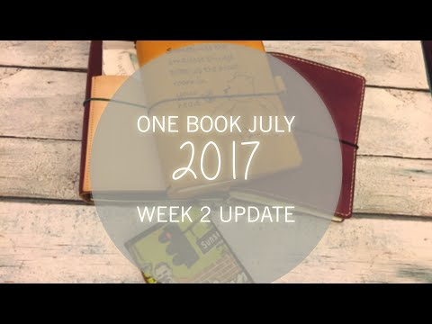 One Book July 2017 Week 2 Update
