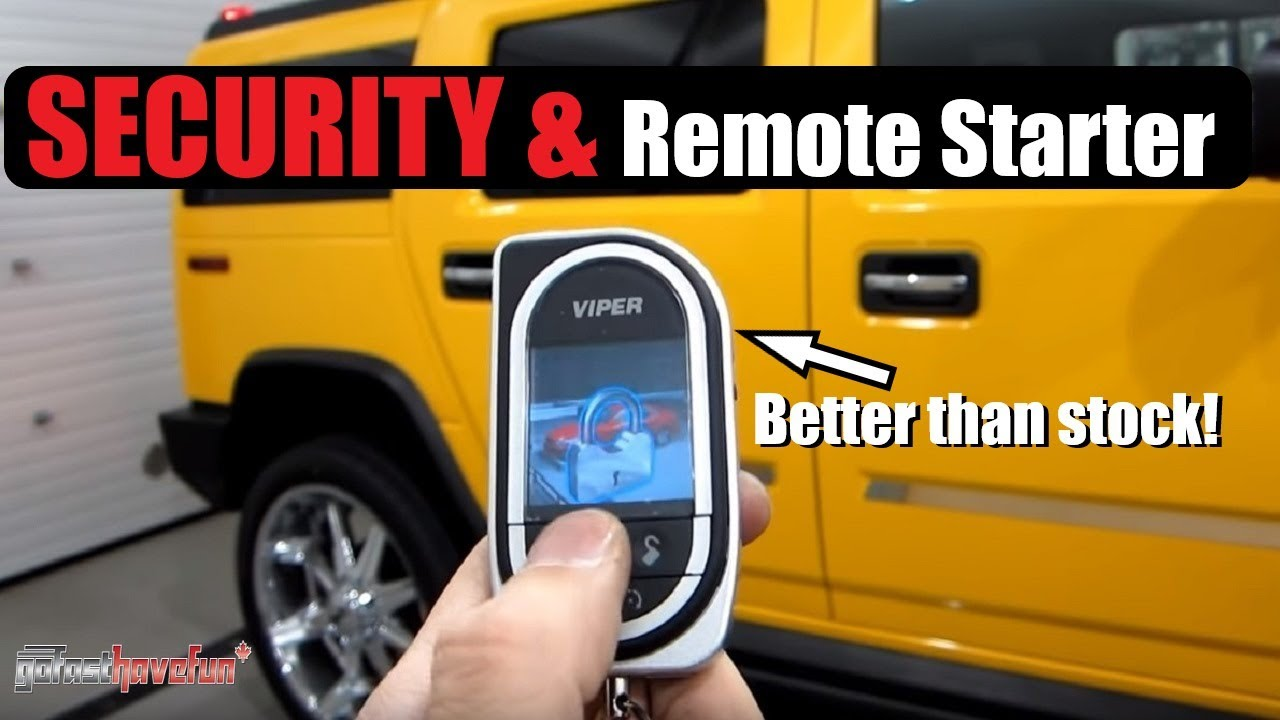 Viper Security and Remote Starter 5902 & SMART START 2007 Hummer