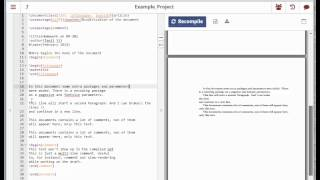 How to use 'ShareLaTeX'
