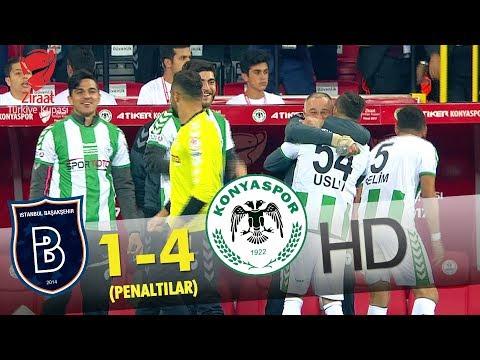 Medipol Başakşehir: 1 - Atiker Konyaspor : 4 | Penaltılar - atv