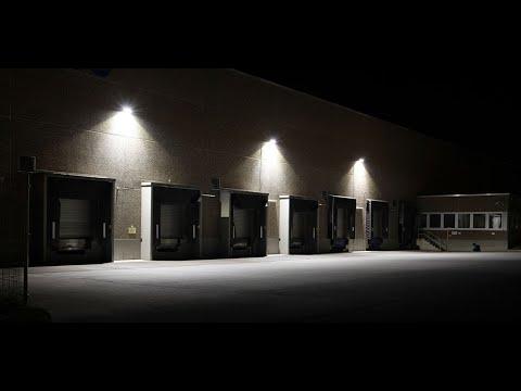 exterior warehouse lighting design part 2 youtube