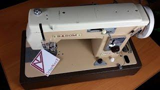 Бытовая швейная машина Radom 432. Особенности и подготовка к работе.