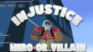 Injustice Brought To Roblox!   ROBLOX   Injustice Online Adventure