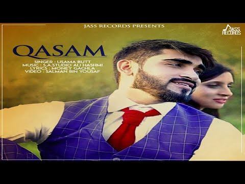 Qasam | (Full HD)| Usama Butt | New Punjabi Songs 2018 | Latest Punjabi Songs 2018