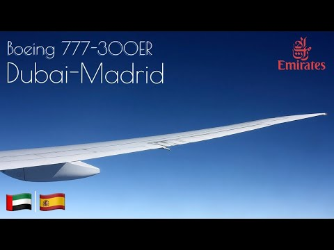 Emirates | Dubai to Madrid | EK 143 | Flight Experience ✈