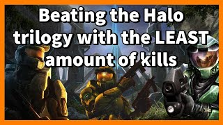 What is the LEAST amount of kills required to beat the Halo trilogy?
