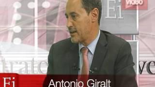 Antonio Giralt, Presidente del Mercado Alternativo Bursátil 1ª Parte en EstrategiasTV (01-06-2010)