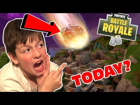 🛑 Fortnite Meteor Today? - Kid Temper Tantrum Doesn't Want To Go To School
