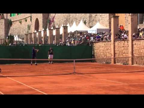 Monte-Carlo Masters 2016 - Federer training