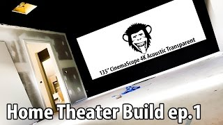 Hatless Chimp's Home Theater Build - Ep.1