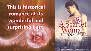 A Romance Book Review: A Scarlet Woman by Lorna Peel