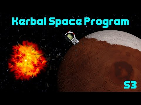 Terminal Velocity Flipping Rockets - Kerbal Space Program Career #1