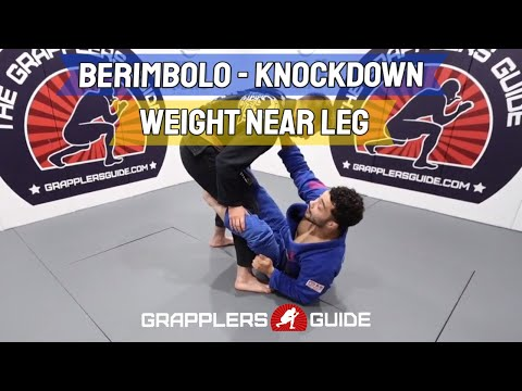 Nick Salles & Daniel Maira - Berimbolo - Knockdown - Weight On Their Near Leg - BJJ