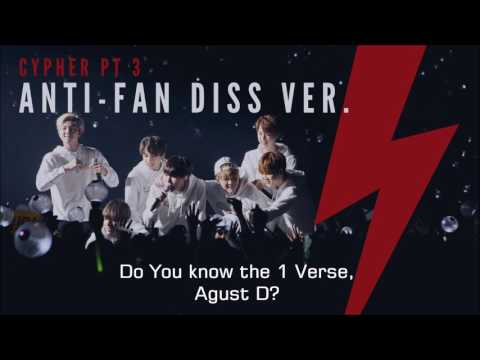 BTS Cypher Pt. 3 ENGLISH COVER (Anti-Fan Diss Ver.)