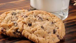 Постное Овсяное печенье.Очень Вкусный и Простой Рецепт!!!