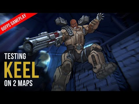 Quake Champions - Testing KEEL on 2 Maps (60FPS GAMEPLAY)