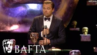 Leonardo DiCaprio wins Leading Actor | BAFTA Film Awards 2016