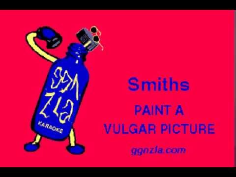 ggnzla KARAOKE 307, Smiths - PAINT A VULGAR PICTURE