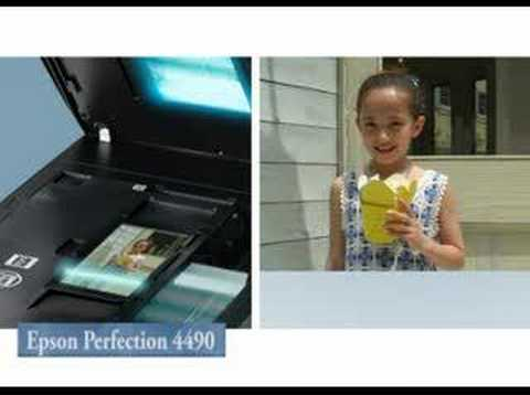 Epson Perfection 4490 Youtube