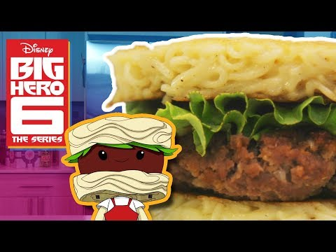 HOW TO MAKE NOODLE BURGER From Big Chibi 6