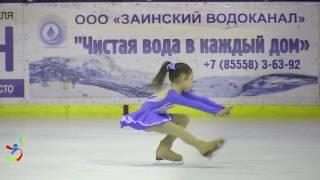 Рената Загидуллина (Набережные Челны) 3 юношеский разряд
