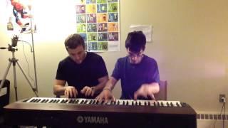 Numb - Linkin Park | Piano Duet ft. Zach Heyde (HD)