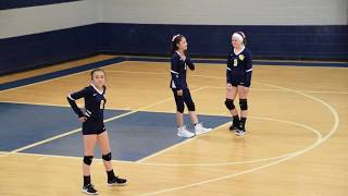 Volleyball - 8th Grade Eastwood Lady Raiders vs Valley View (Full Game 2018)