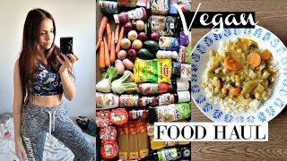 Vegan Food Haul + What I Eat In A Day // Clean With me!