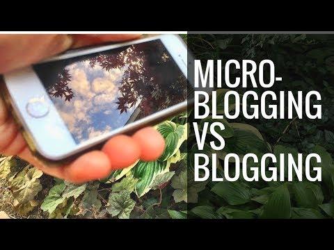 Micro-Blogging VS Blogging