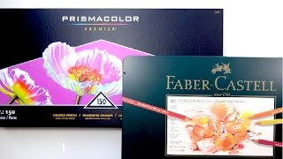 Prismacolor vs Faber-Castell Polychromos | Pencil Comparison