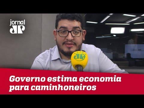 Governo De SP Estima Economia Para Caminhoneiros E Atualiza Situação No Estado | Jornal JP