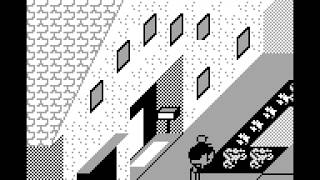 Paperboy Longplay (Game Boy) [60 FPS]