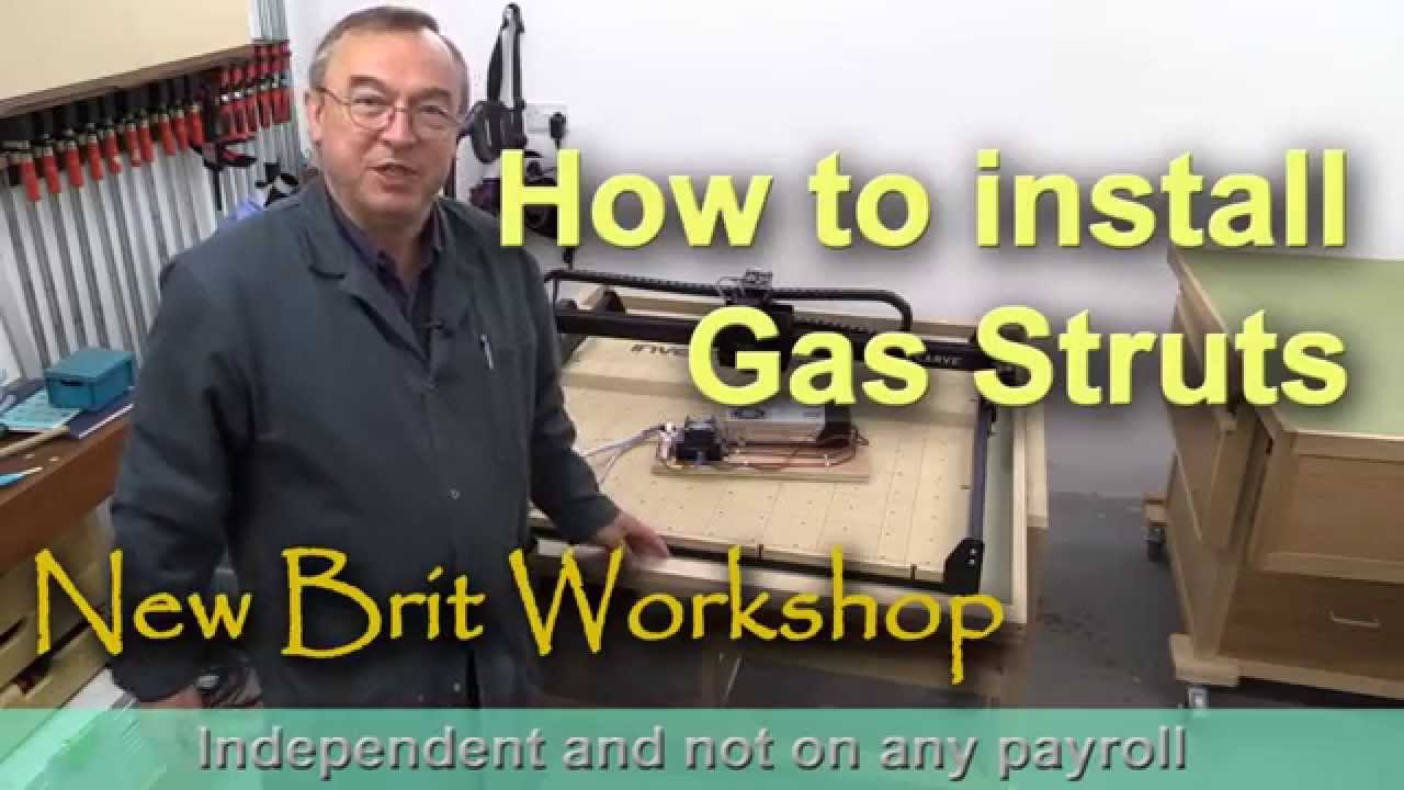 How To Install Gas Struts Youtube
