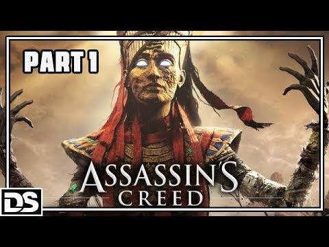 Assassin's Creed Origins Der Fluch der Pharaonen Gameplay German Part 1 - Was geht ab? (Deutsch)