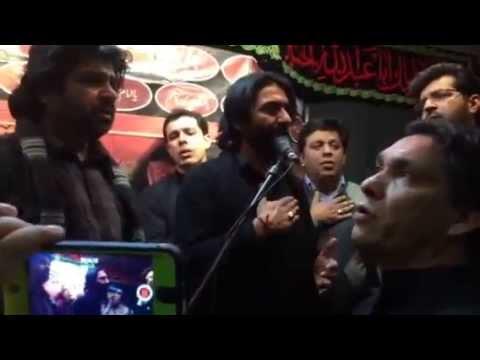 Nadeem Sarwar | Mujh Par Kyun Band Karte Ho Pani | Shah e Najaf Shab e Dari | 2014 (Part 2)
