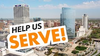 SERVE T-shirts (to help those in need)
